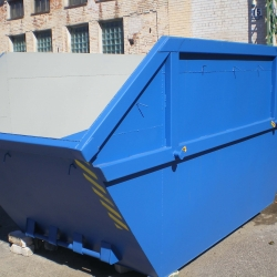 Construction waste dumpsters